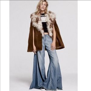FP Vintage Extreme Flare wide leg jeans touch sky